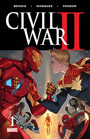 Civil War II (2016-) #1 (of 8)