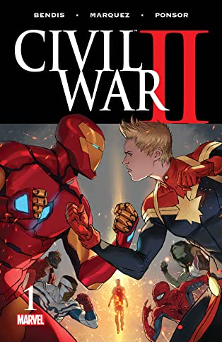 Civil War II (2016) #1 (of 8)