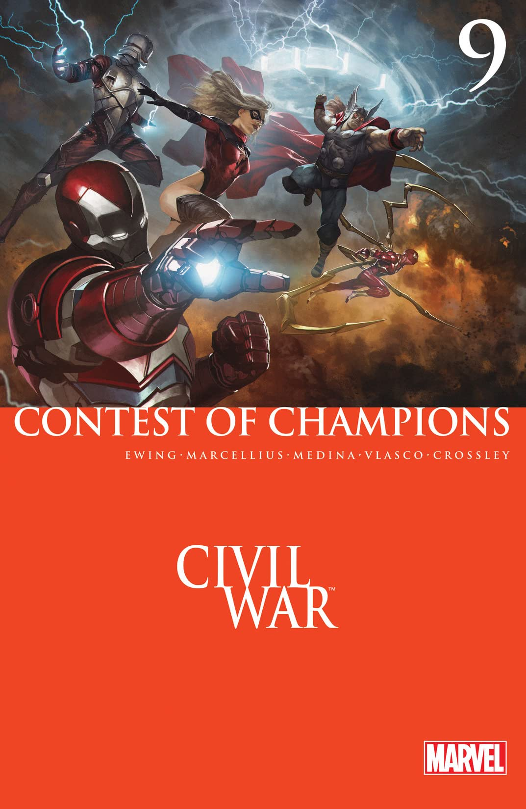 Contest of Champions (2015-2016) #9