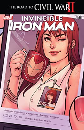 Invincible Iron Man (2015-2016) #10