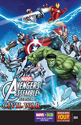 Marvel Universe Avengers Assemble: Civil War (2016) #4
