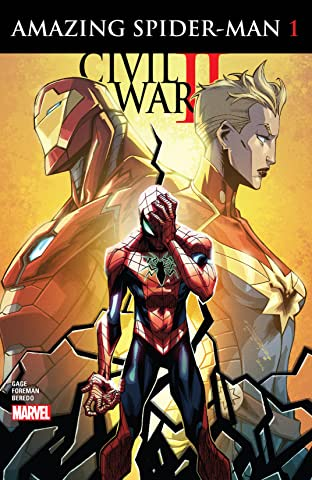 Civil War II: Amazing Spider-Man (2016) No.1 (sur 4)