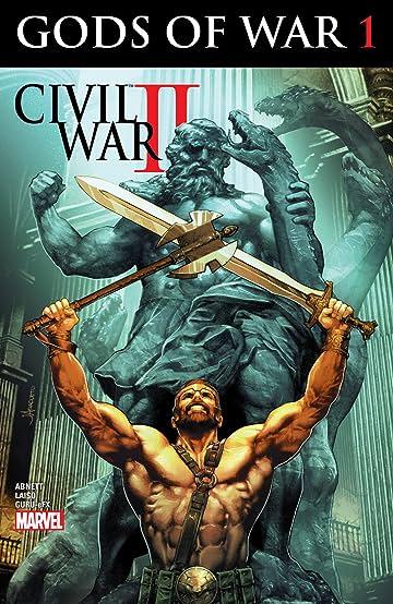 Civil War II: Gods of War (2016) #1 (of 4)