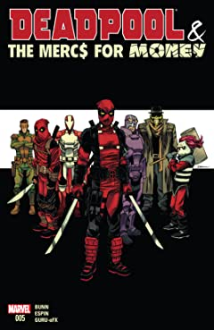 Deadpool & The Mercs For Money (2016) #5 (of 5)