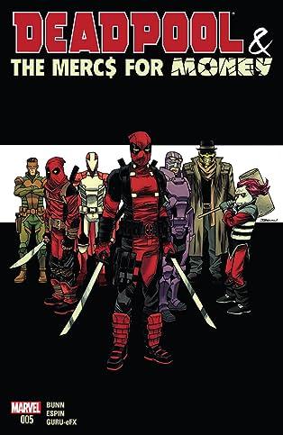 Deadpool & The Mercs For Money (2016) #5 (of 5)