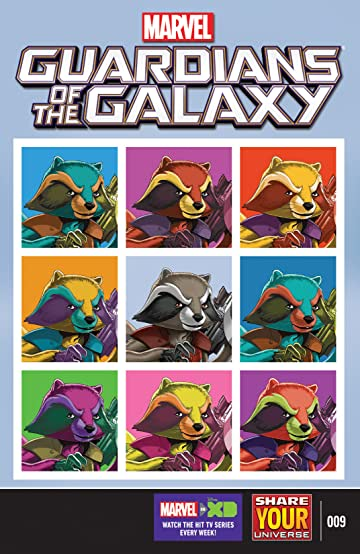 Marvel Universe Guardians of the Galaxy (2015-) #9