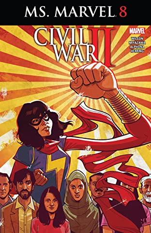 Ms. Marvel (2015-2019) #8