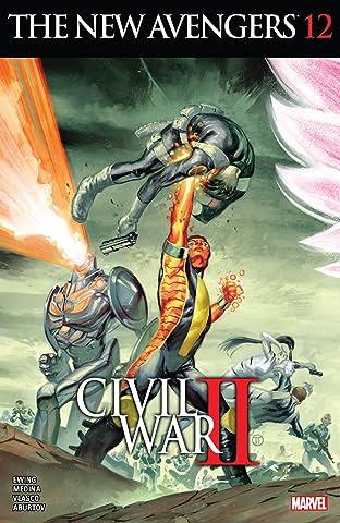 New Avengers (2015-2016) #12