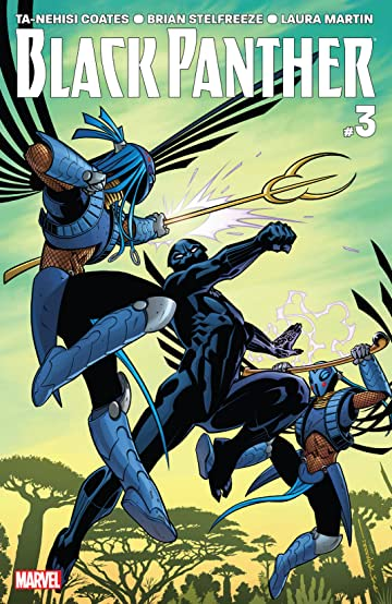 Black Panther (2016-2018) #3