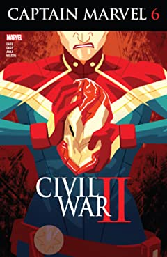 Captain Marvel (2016) #6