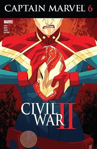Captain Marvel (2016) No.6