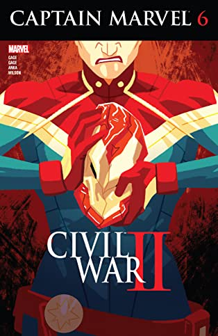 Captain Marvel (2016-) #6