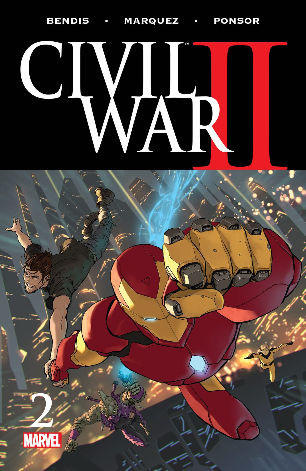 Civil War II (2016) #2 (of 8)