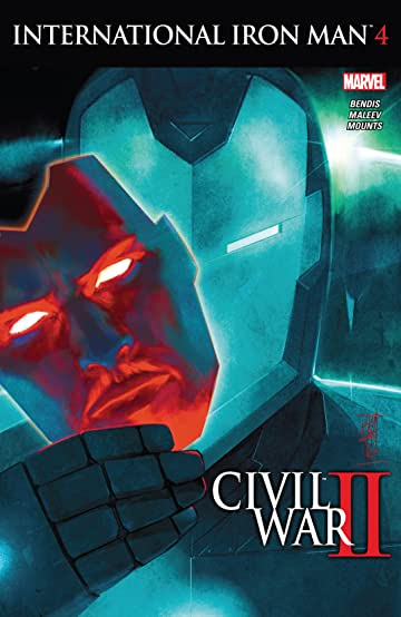 International Iron Man (2016) #4