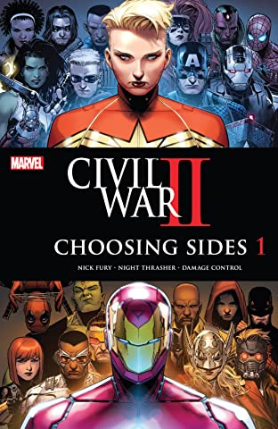 Civil War II: Choosing Sides (2016) No.1 (sur 6)