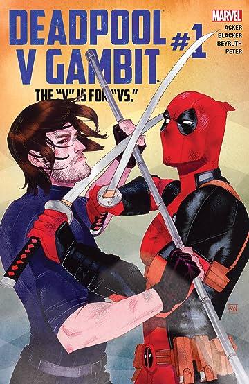 Deadpool v Gambit (2016) #1 (of 5)