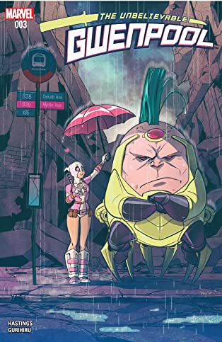 Gwenpool, The Unbelievable (2016-2018) #3