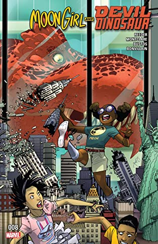 Moon Girl and Devil Dinosaur (2015-) #8