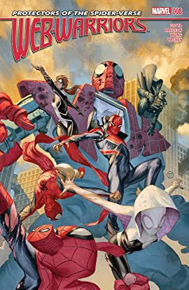 Web Warriors (2015-2016) #8