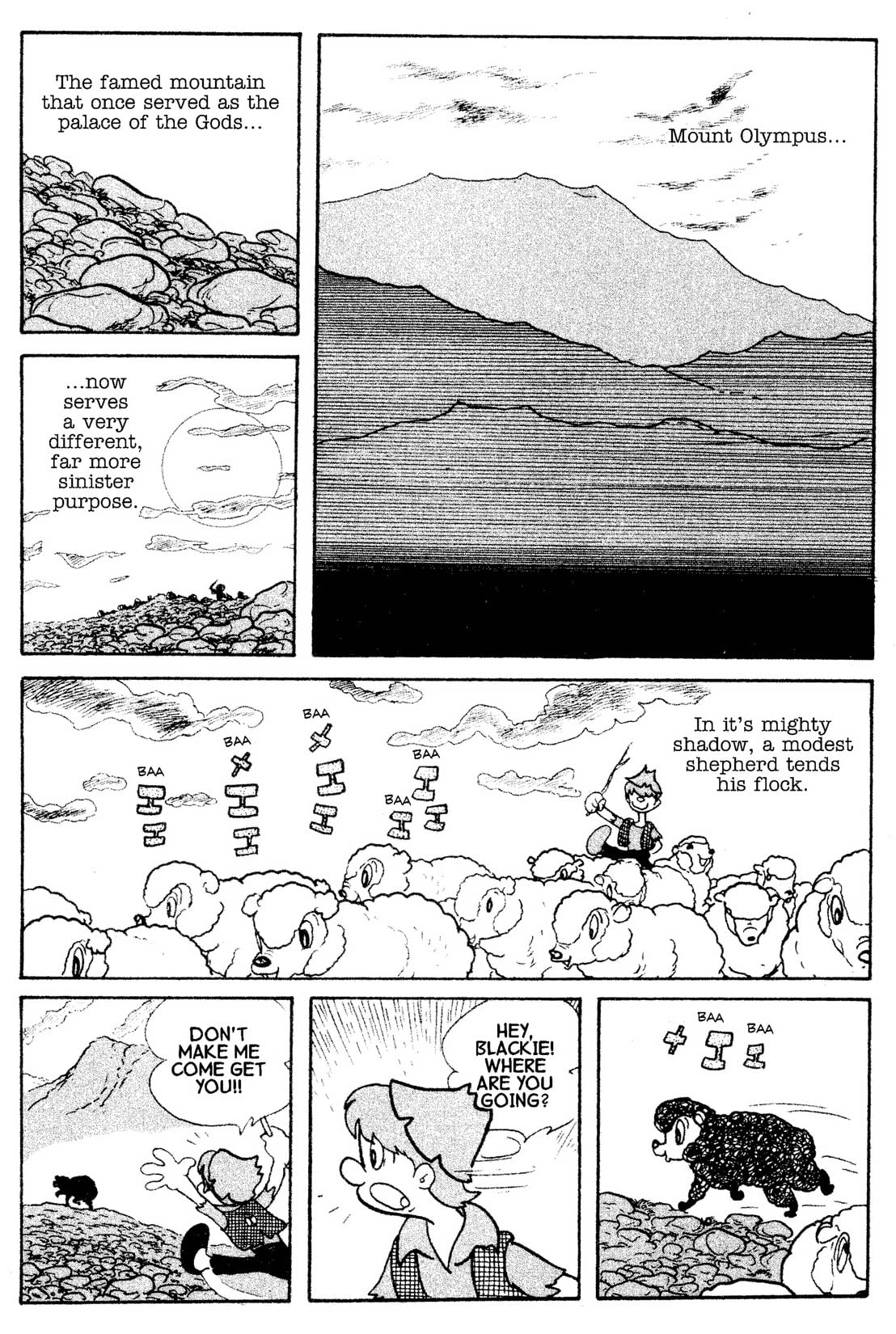 Cyborg 009 Vol. 6: Preview