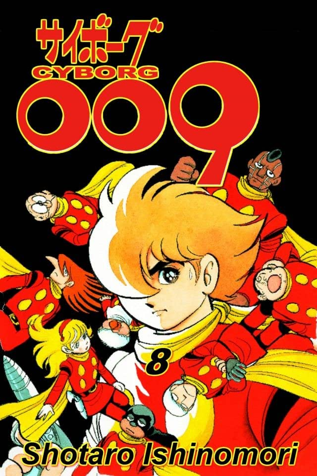Cyborg 009 Vol. 8: Preview