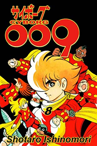Cyborg 009 Tome 8: Preview