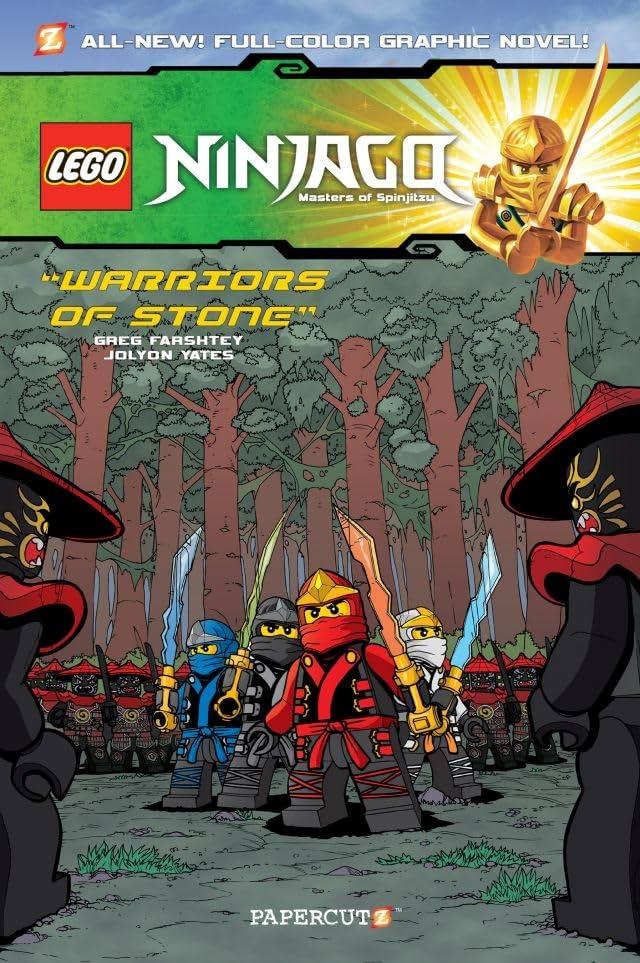 Ninjago Vol. 6: Warriors of Stone