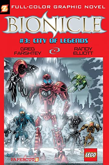 Bionicle Vol. 3: Preview