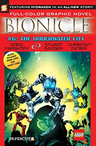 Bionicle Vol. 6: Underwater City Preview