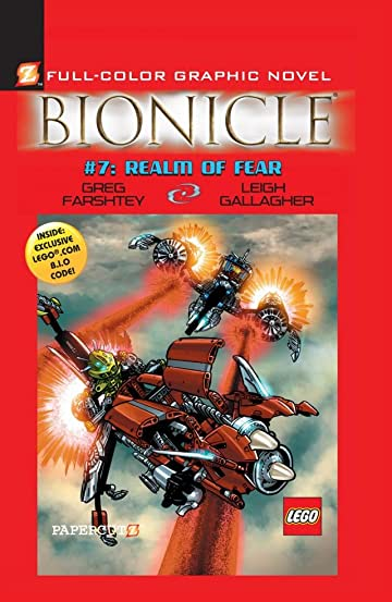 Bionicle Vol. 7: Realm of Fear Preview
