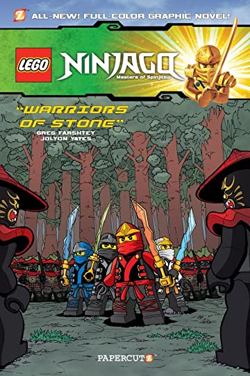 Ninjago Vol. 6: Warriors of Stone Preview