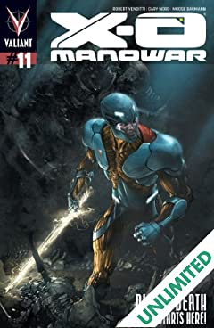 X-O Manowar (2012- ) #11: Digital Exclusives Edition