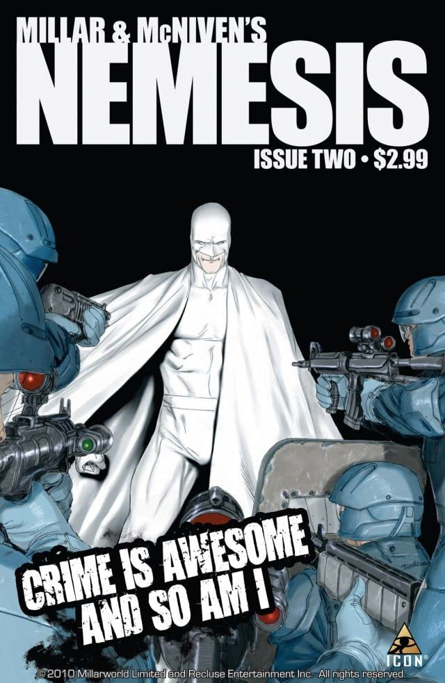 Millar and McNiven's Nemesis #2 (of 4)