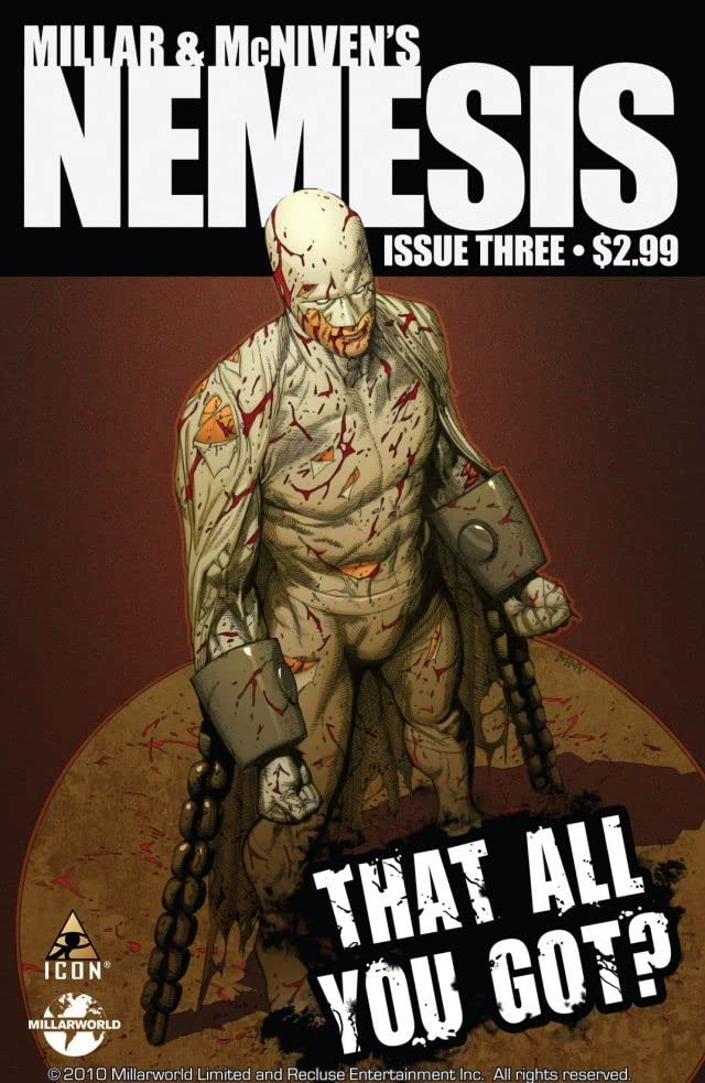 Millar and McNiven's Nemesis #3 (of 4)