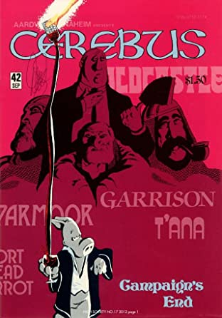 Cerebus Vol. 2 #17: High Society