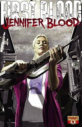 Jennifer Blood: First Blood #4