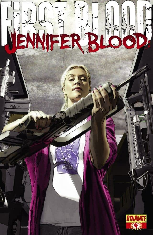 Jennifer Blood: First Blood #4