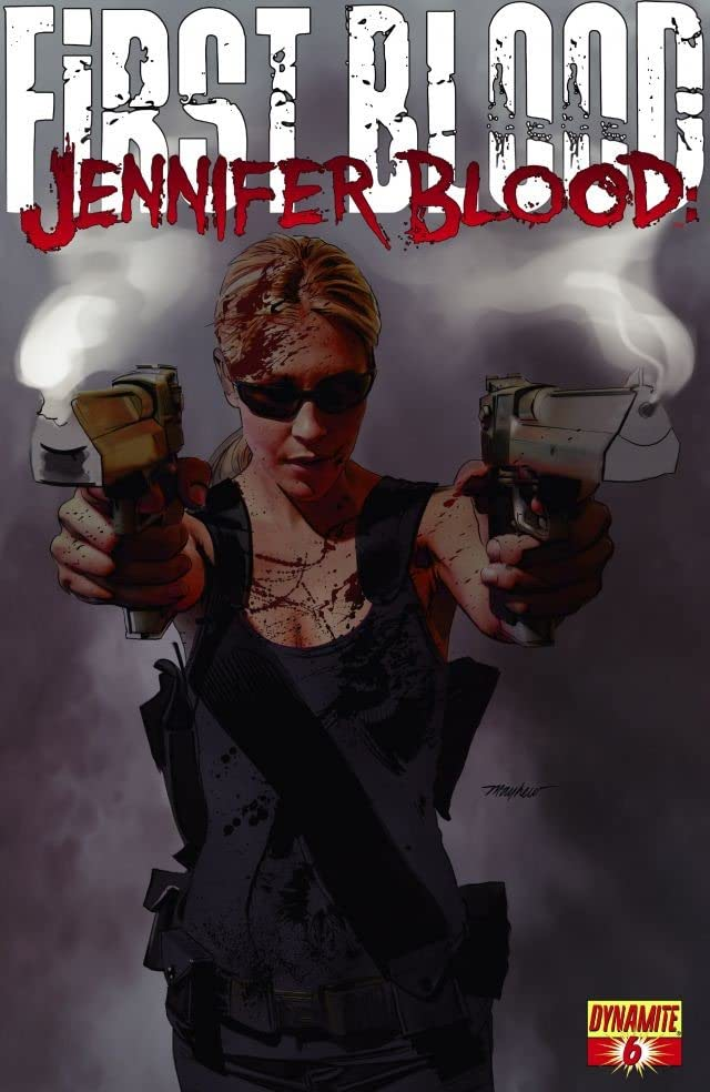 Jennifer Blood: First Blood #6