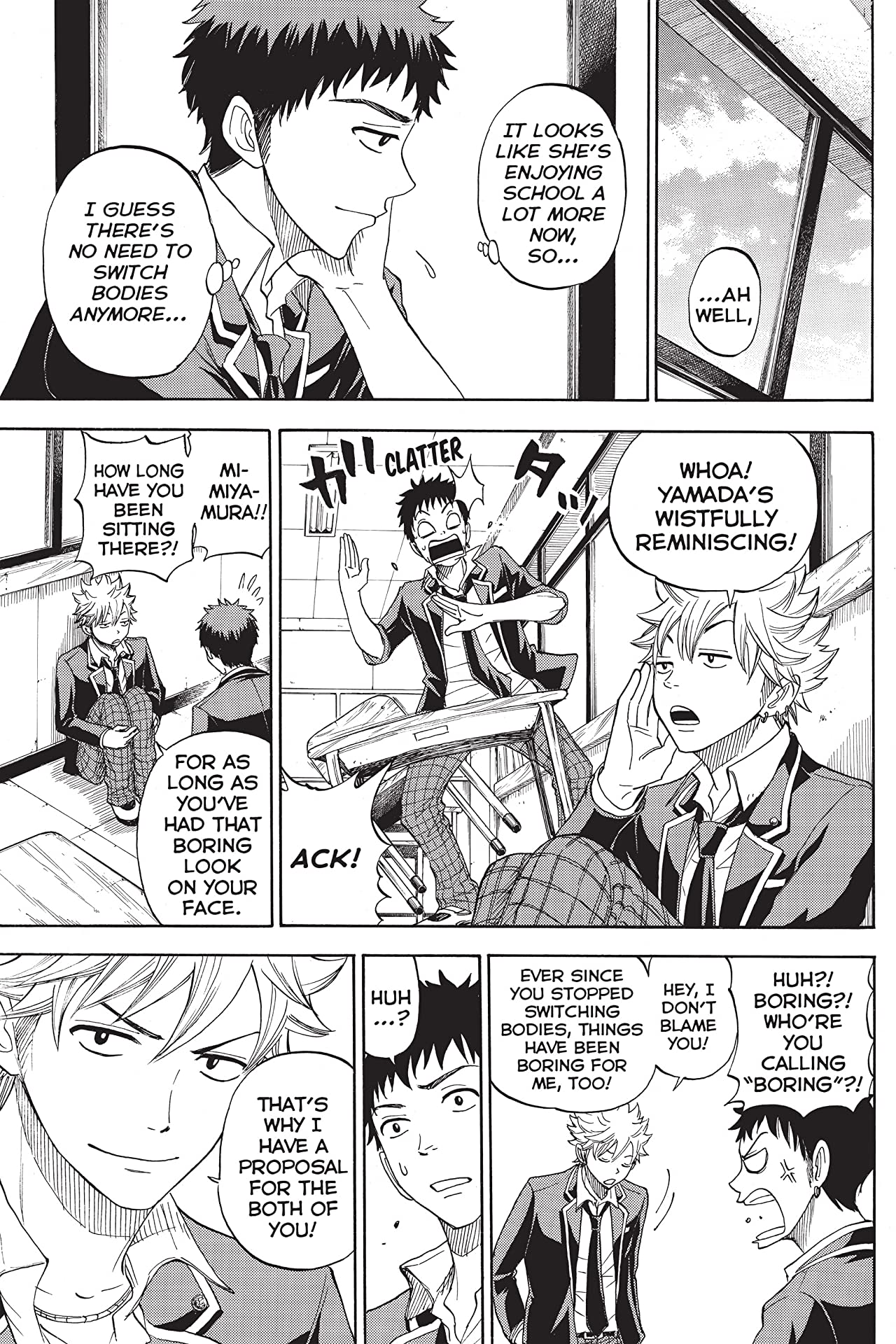 Yamada-kun and the Seven Witches #5