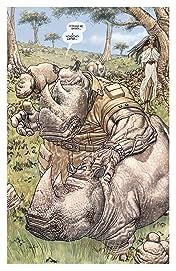Hip Flask #2 (of 5): Elephantmen