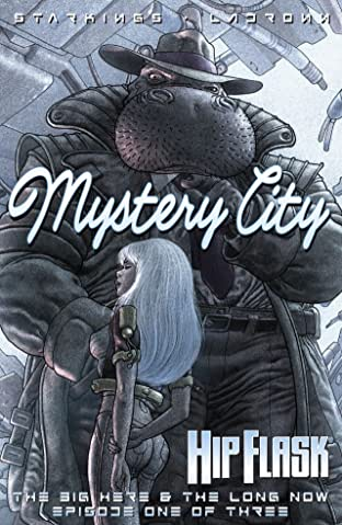 Hip Flask No.3 (sur 5): Mystery City