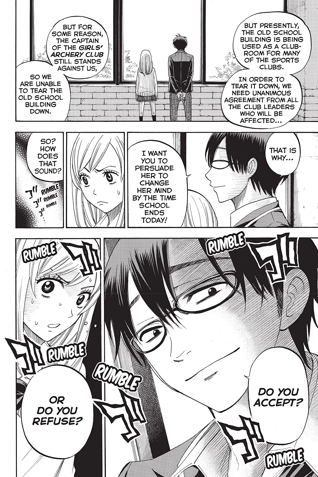 Yamada-kun and the Seven Witches #12