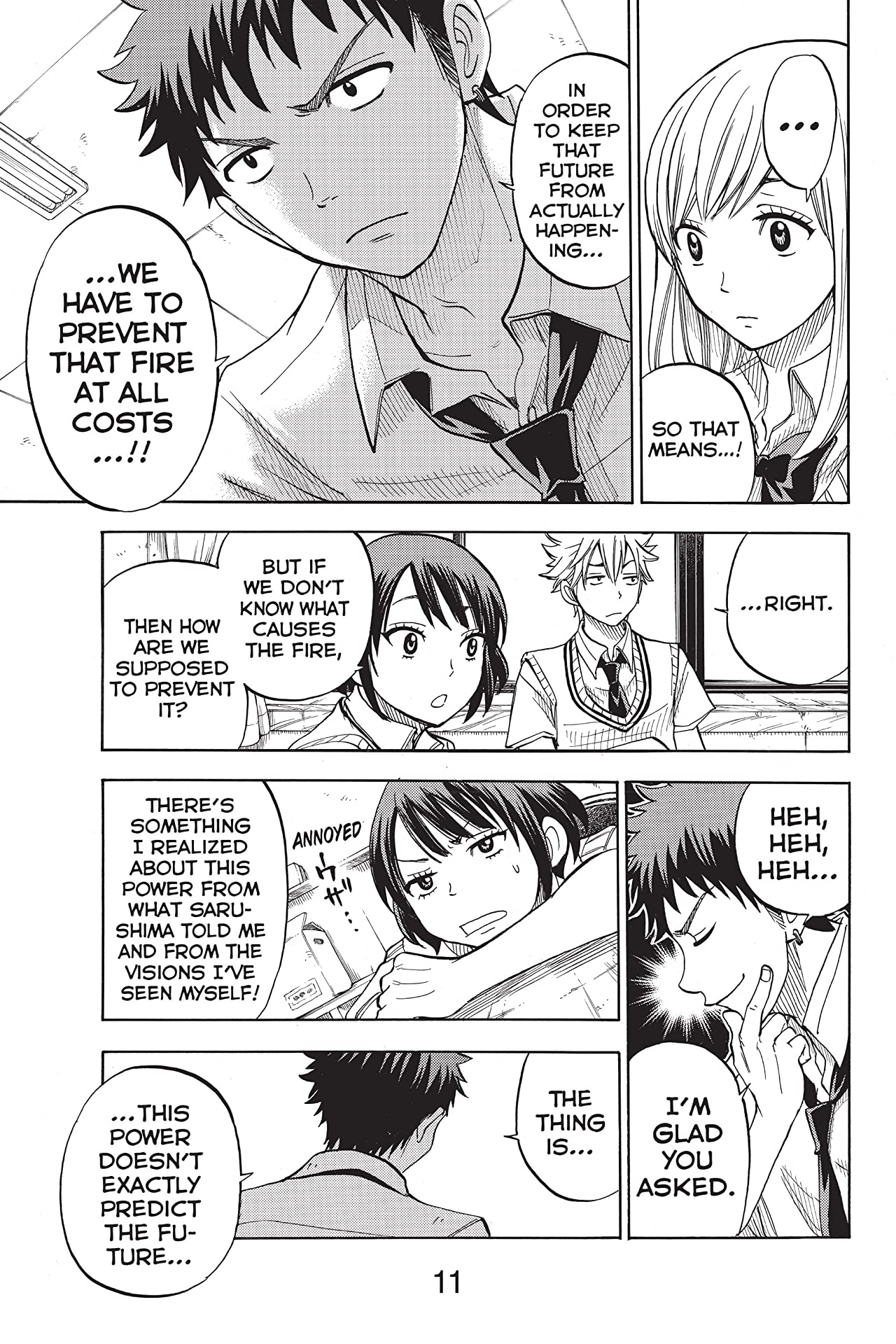 Yamada-kun and the Seven Witches #35