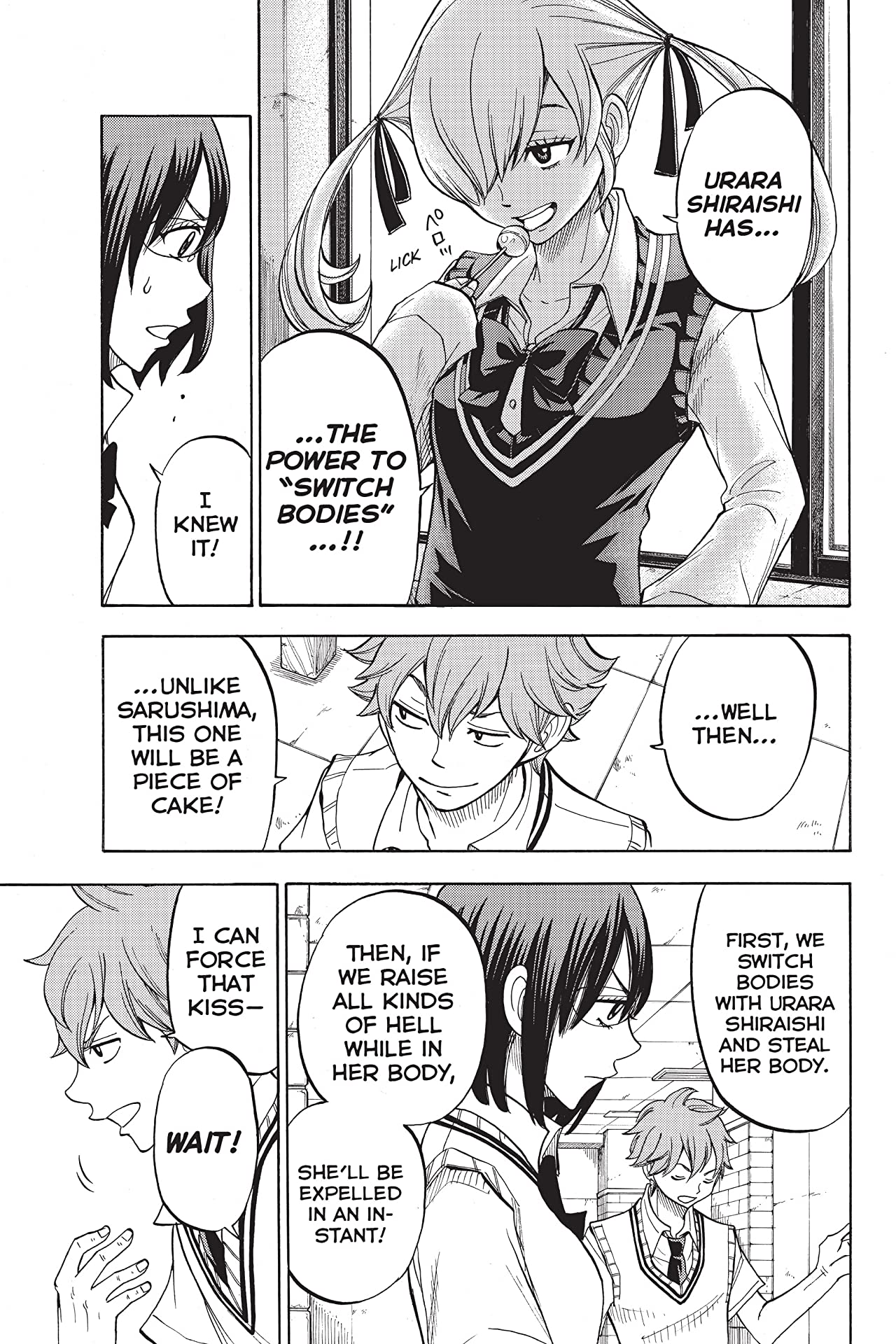 Yamada-kun and the Seven Witches #46