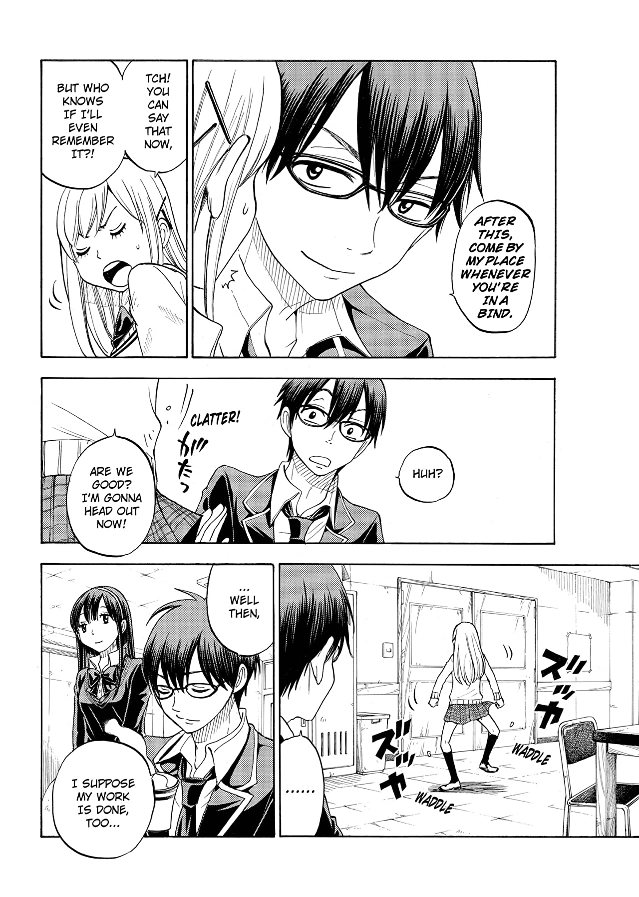 Yamada-kun and the Seven Witches #65