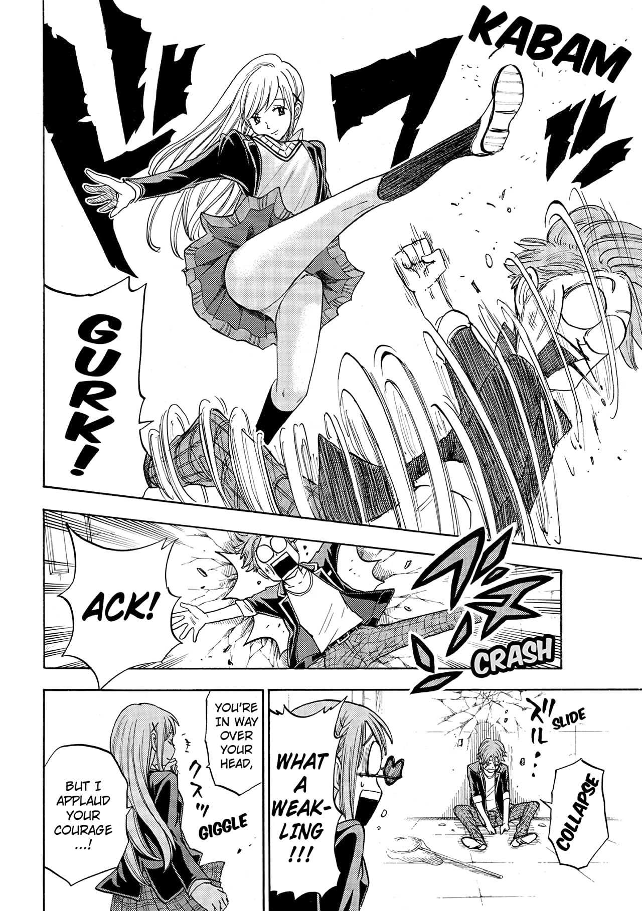 Yamada-kun and the Seven Witches #86