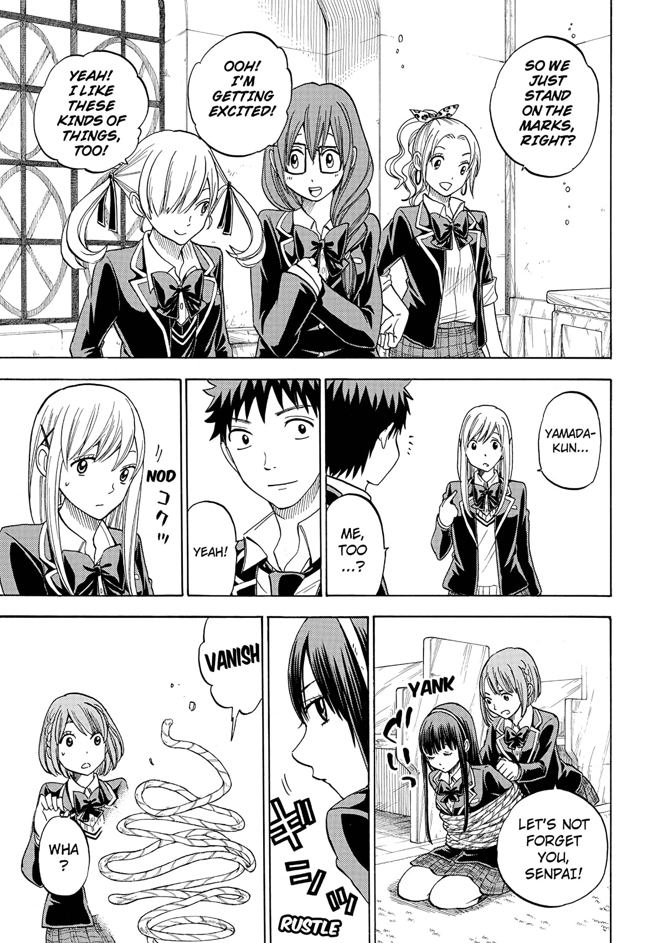 Yamada-kun and the Seven Witches #87