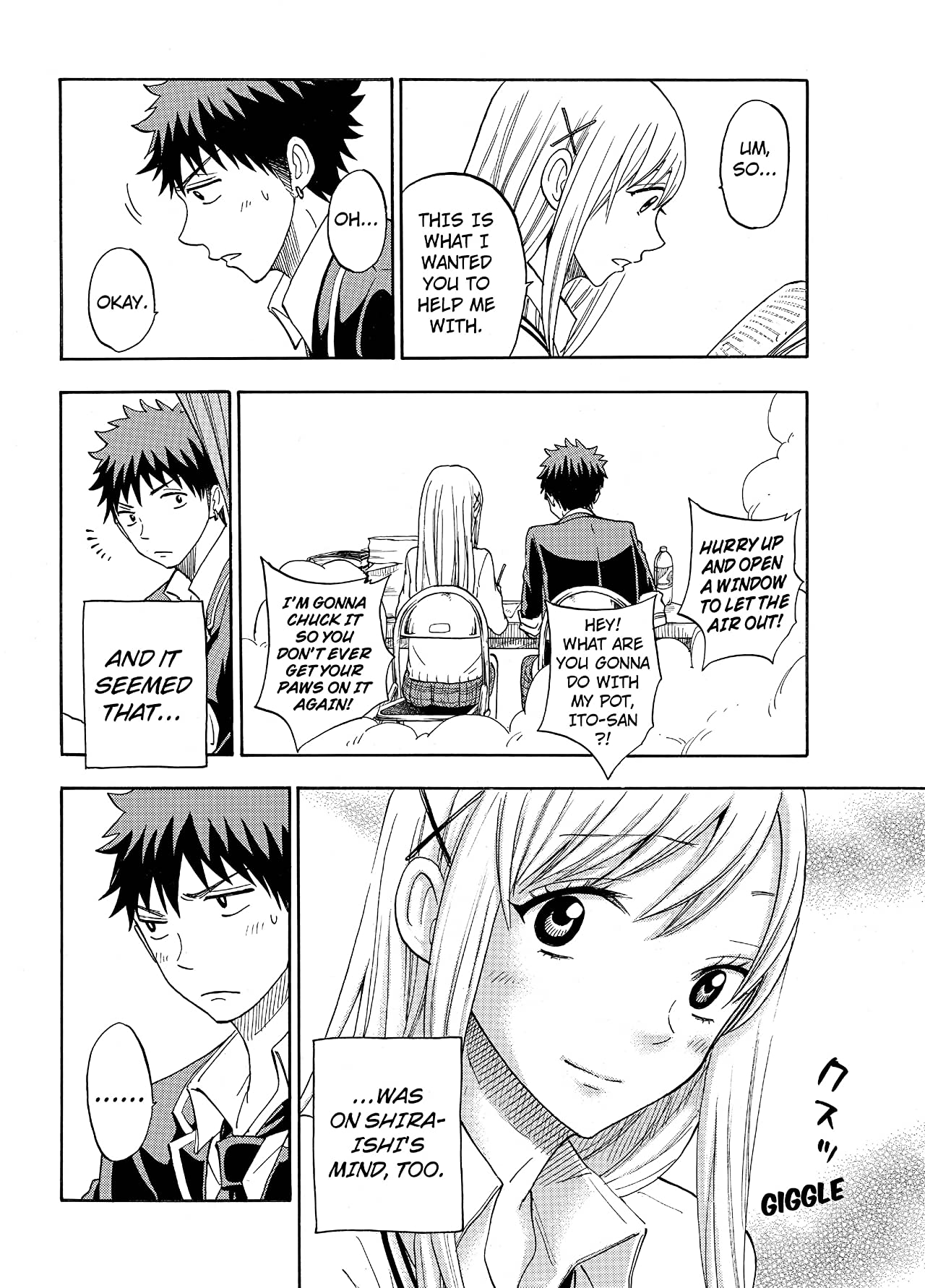 Yamada-kun and the Seven Witches #91