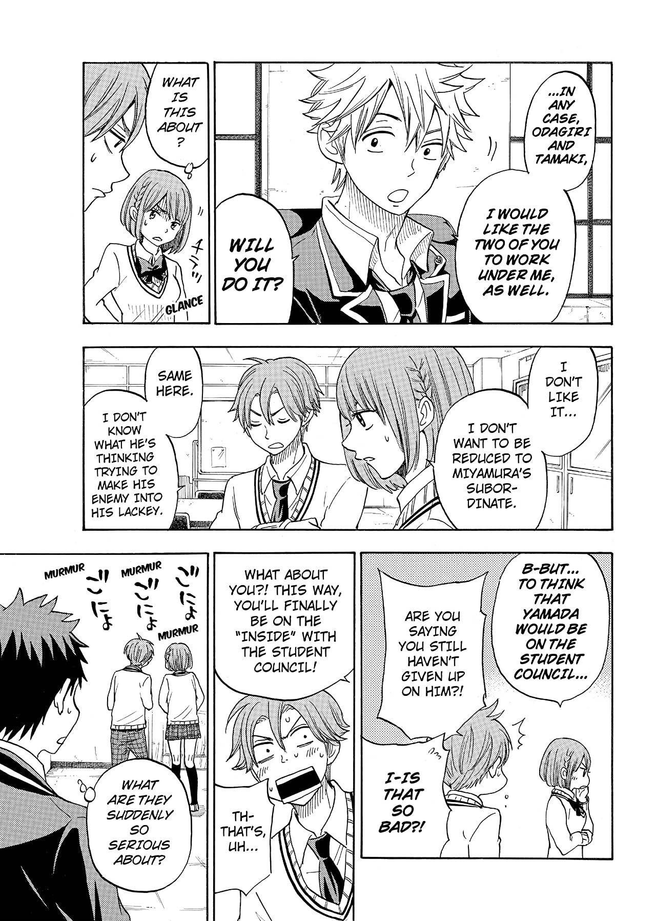 Yamada-kun and the Seven Witches #92