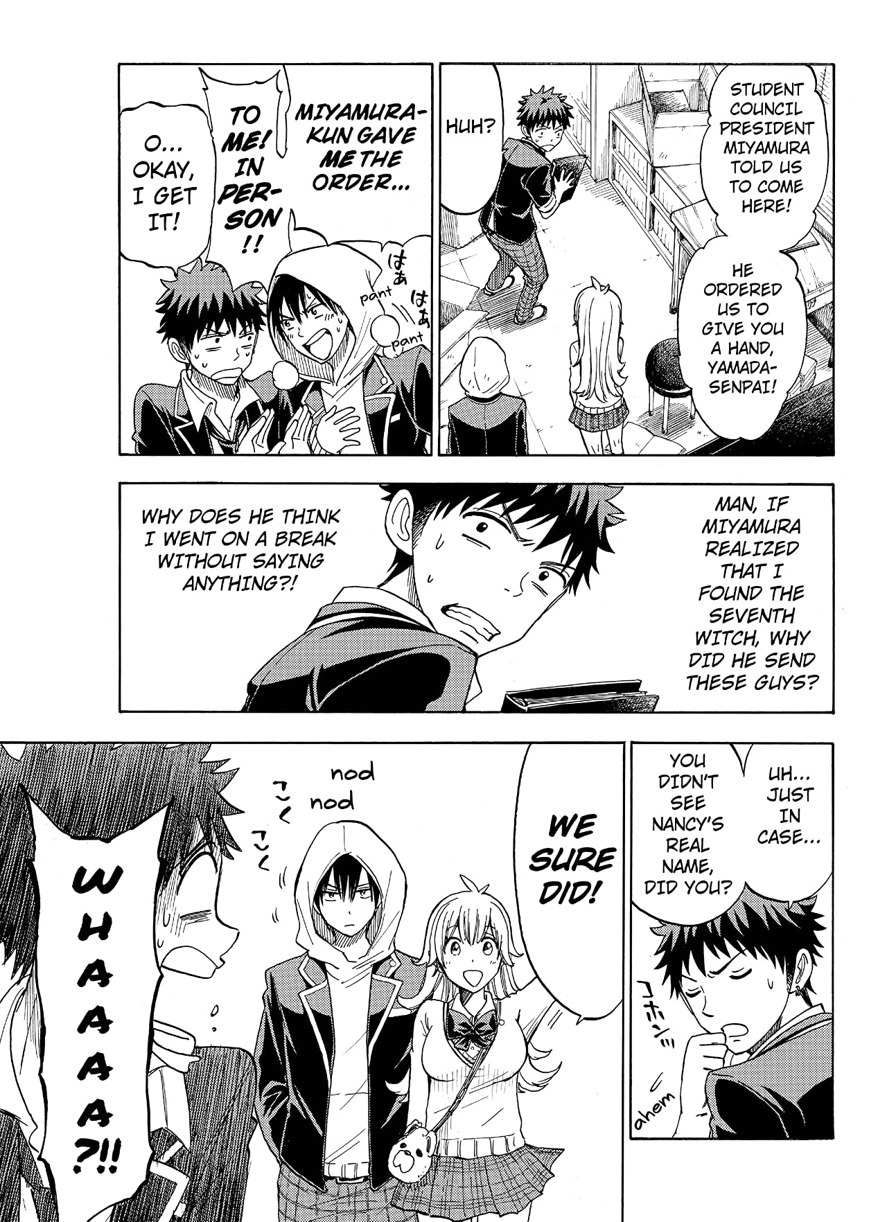 Yamada-kun and the Seven Witches #104